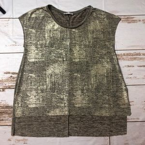 Zara Gold/Bronze  Top